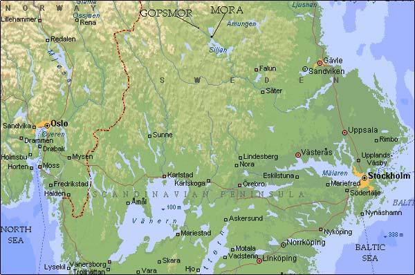 Mapjpg - Karlskoga sweden map